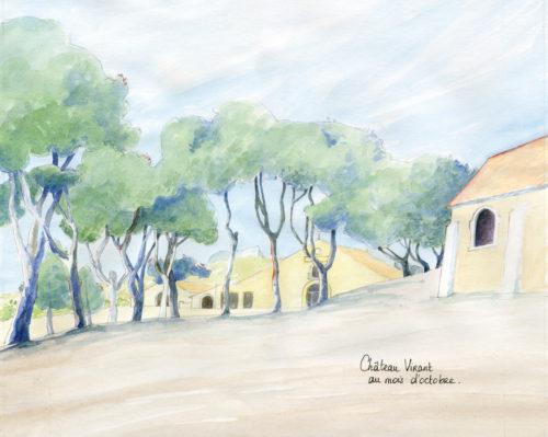 moulin oléicole château virant