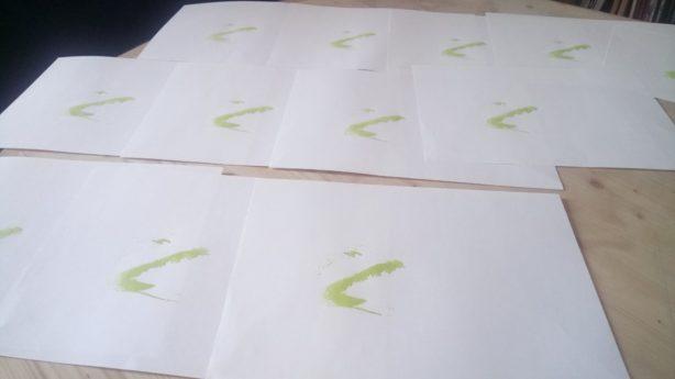 linogravure première couleur