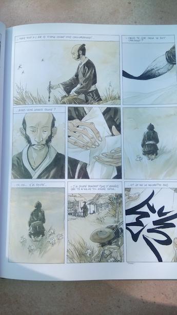 Calligraphe japonais, conseils du maître à son élève