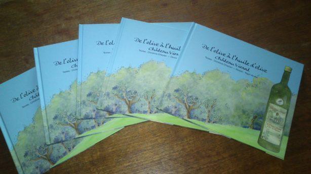 livre olives couverture
