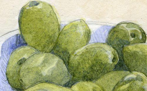 olives cassées château virant