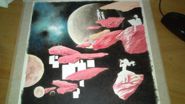 nébuleuse univers arts