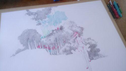 Crayonné : détails et précision
