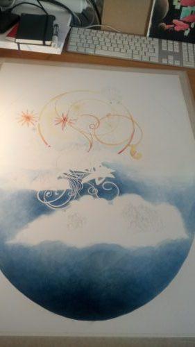 Peinture du ciel