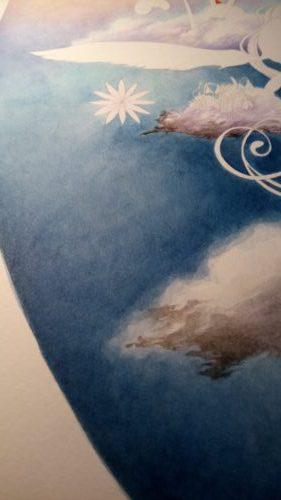 Peinture des nuages