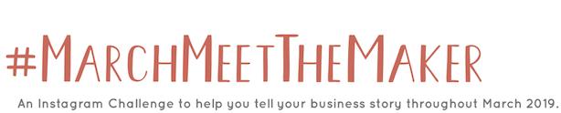 meet the maker banner