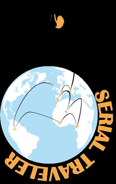 Sticker voyage : le Serial Traveller