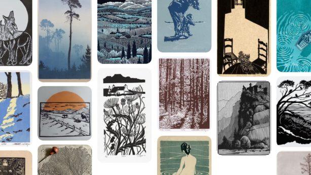Pinterest, documentation et inspiration linogravure