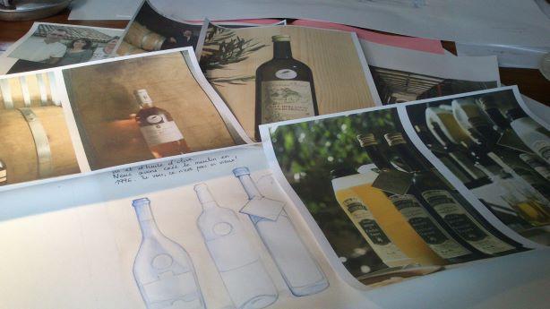 documentation huile d'olive BD Château Virant