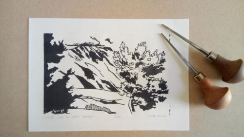 Nuage sur le Mont Ventoux